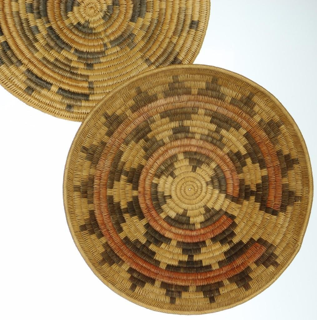 Three Navajo ceremonial trays - 3
