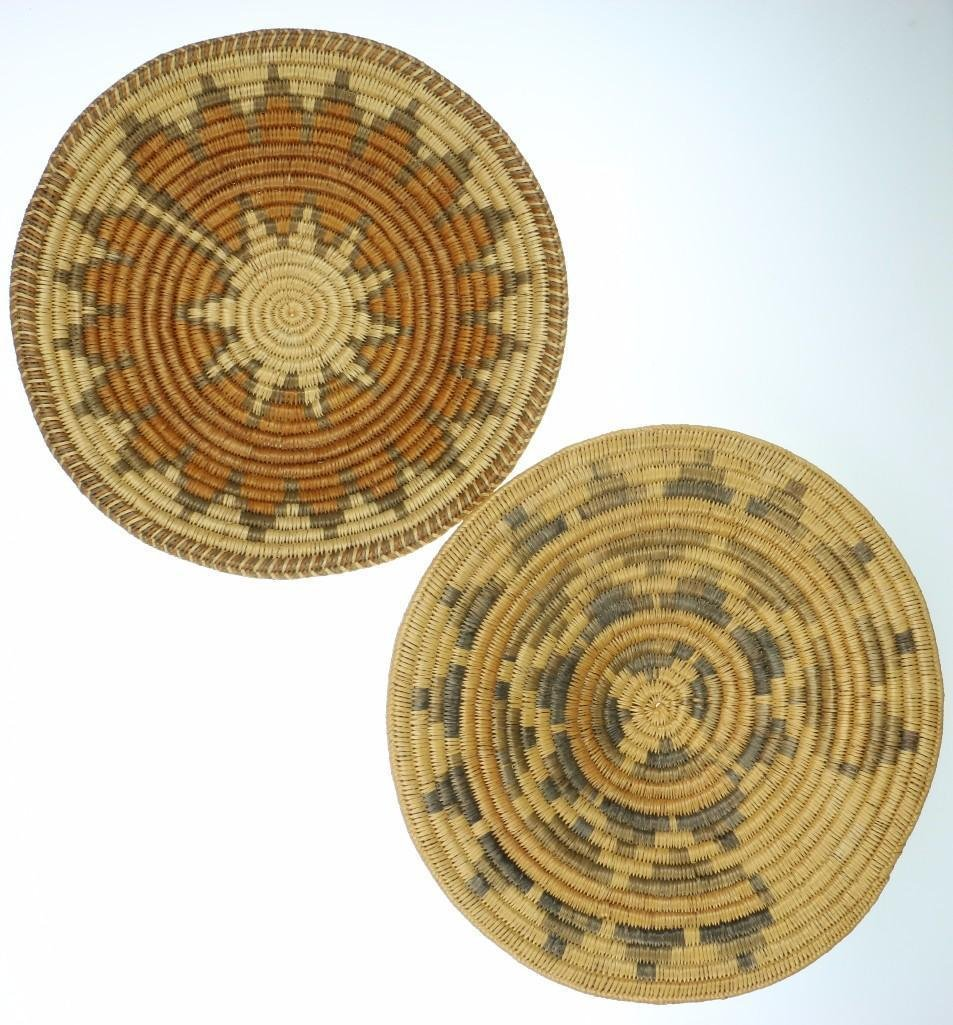 Three Navajo ceremonial trays - 5