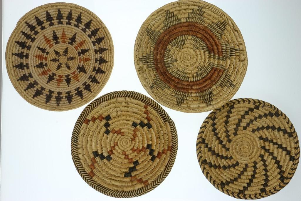 Four Navajo trays - 2