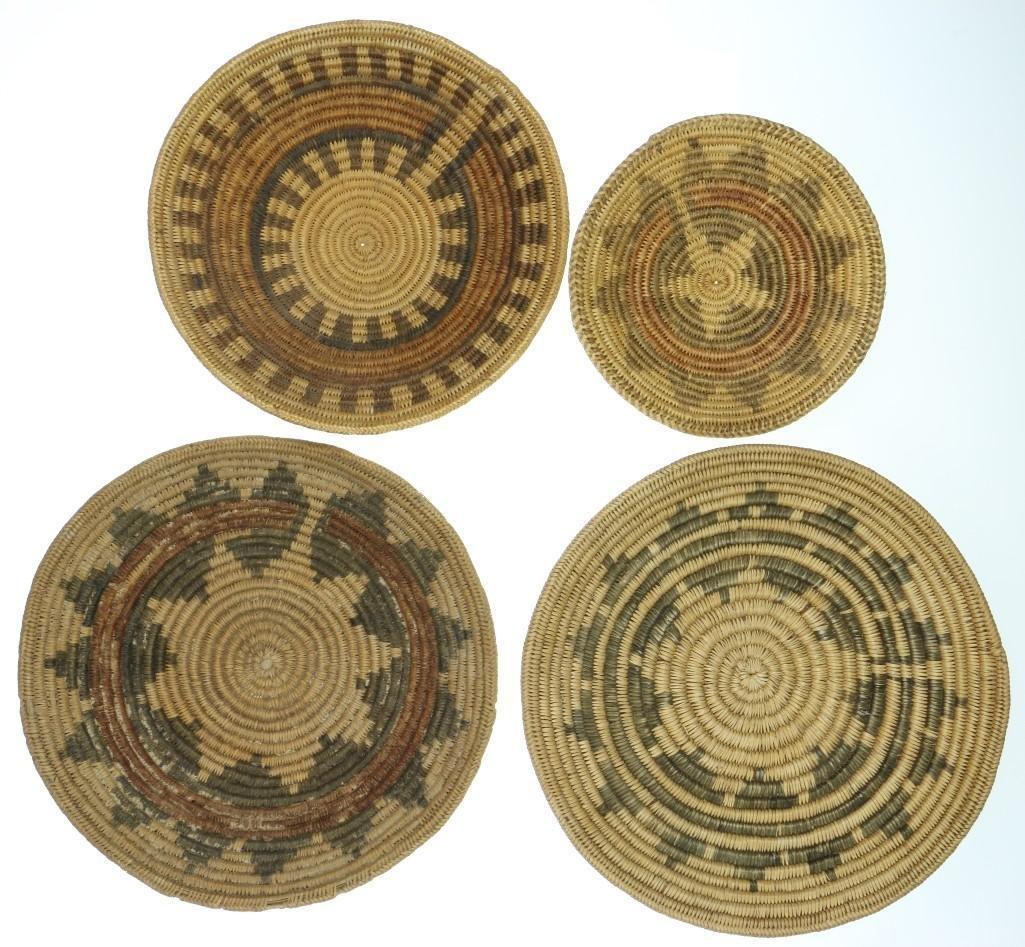 Four Navajo ceremonial trays - 2