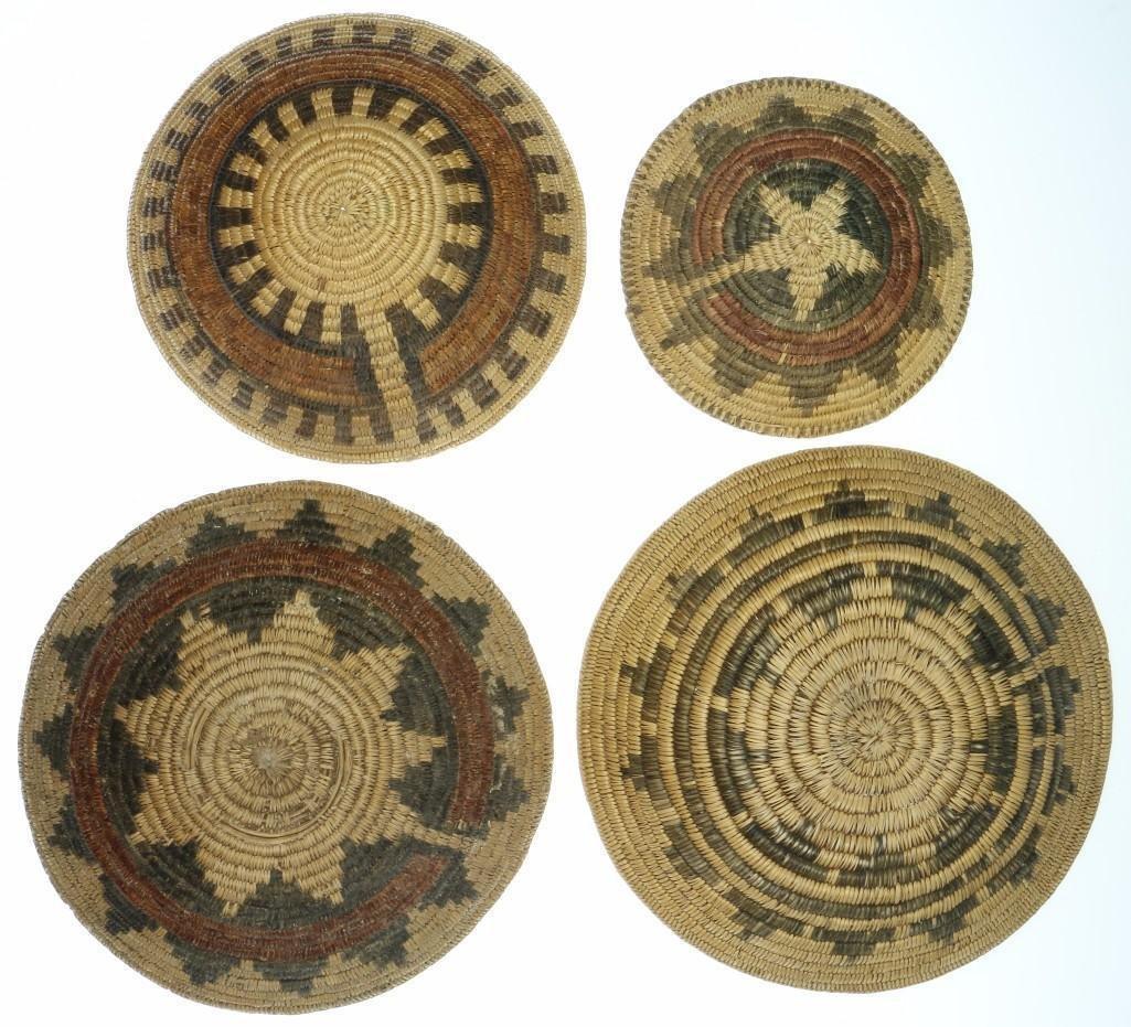 Four Navajo ceremonial trays - 3