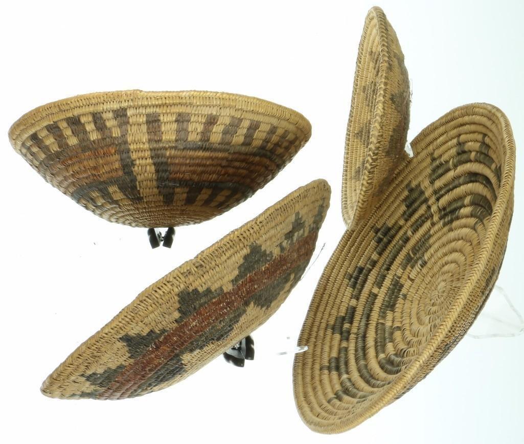 Four Navajo ceremonial trays - 4