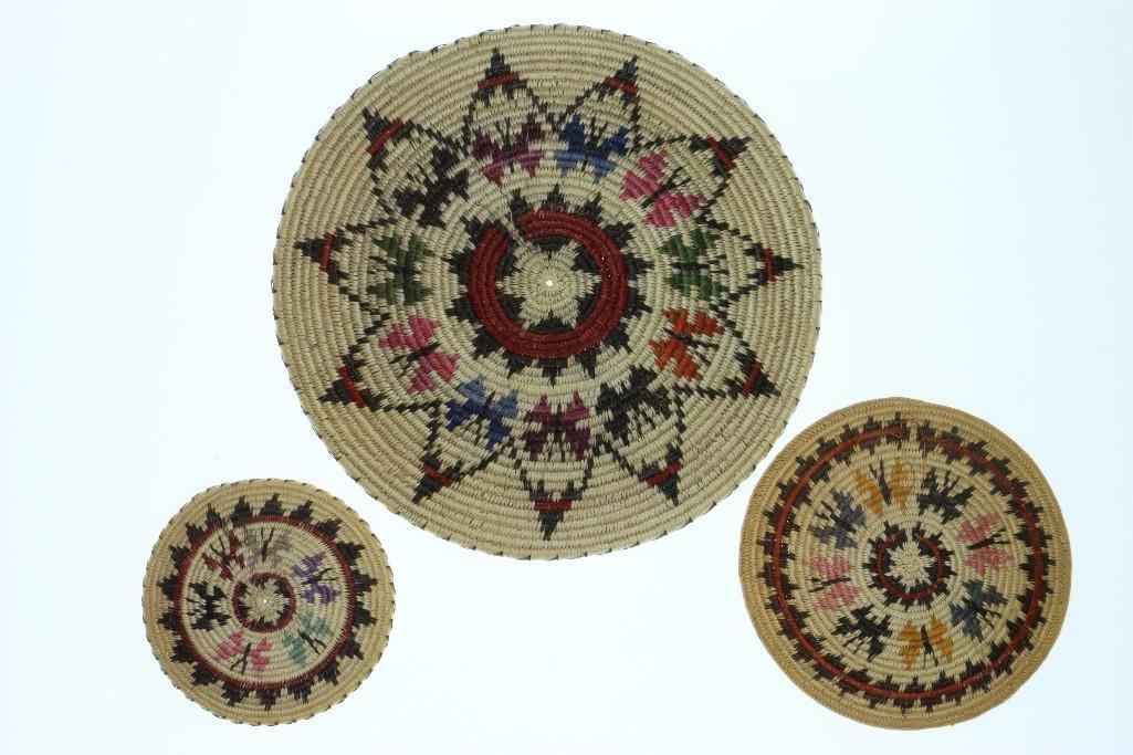 Three Navajo butterfly trays - 2