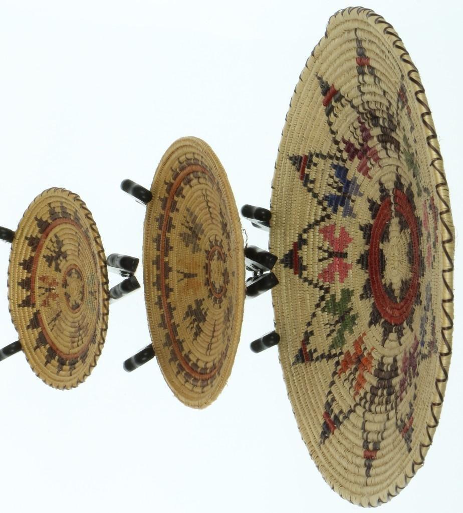 Three Navajo butterfly trays - 3