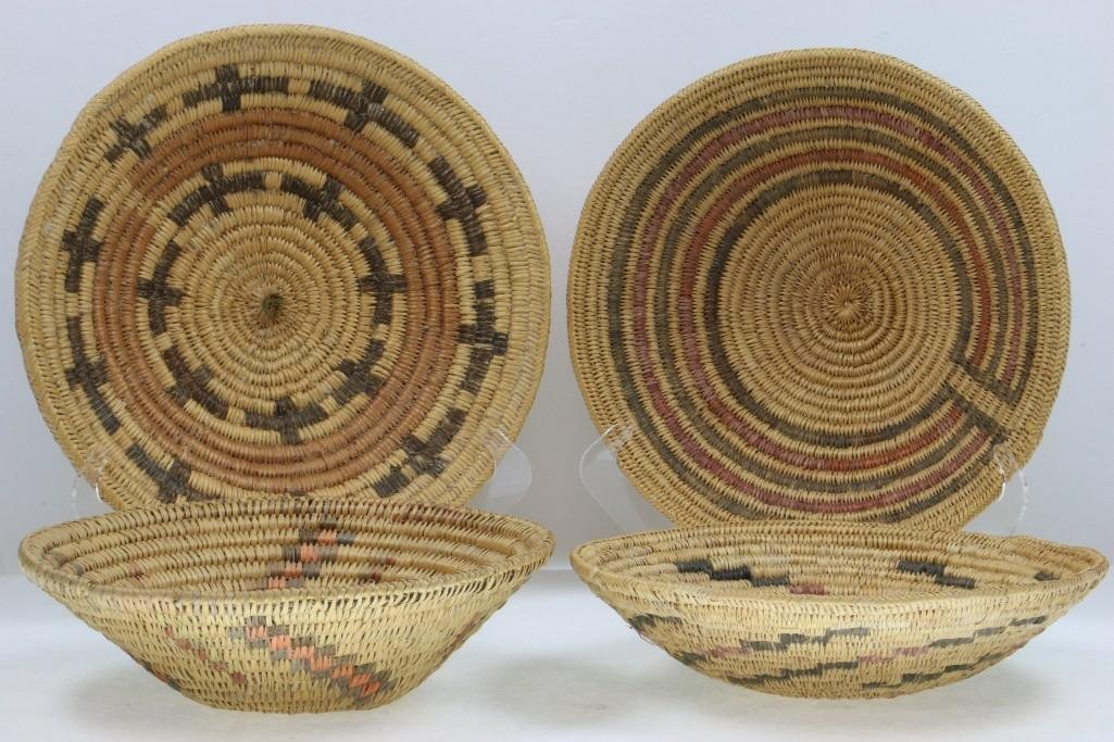 Four Navajo trays - 3