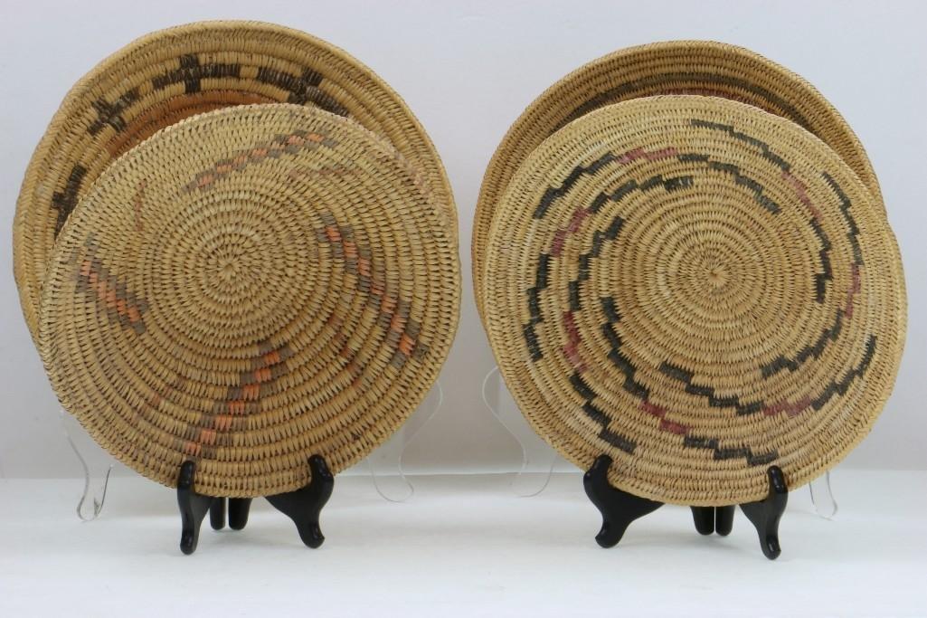 Four Navajo trays - 4