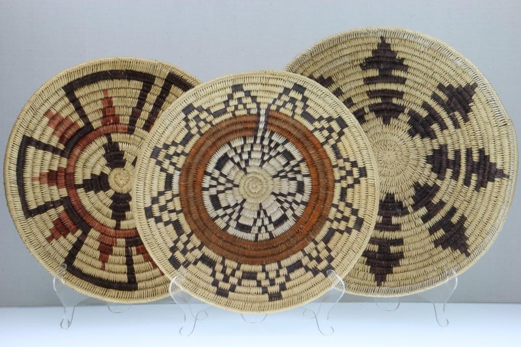 Three Navajo trays - 5