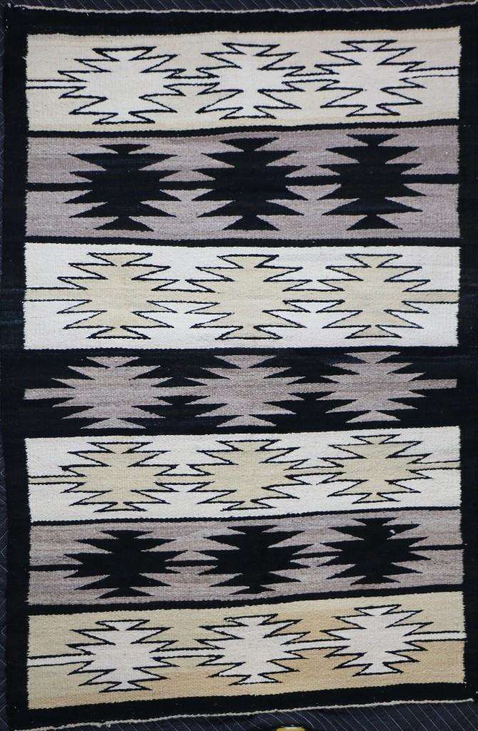 Three Navajo rugs - 2