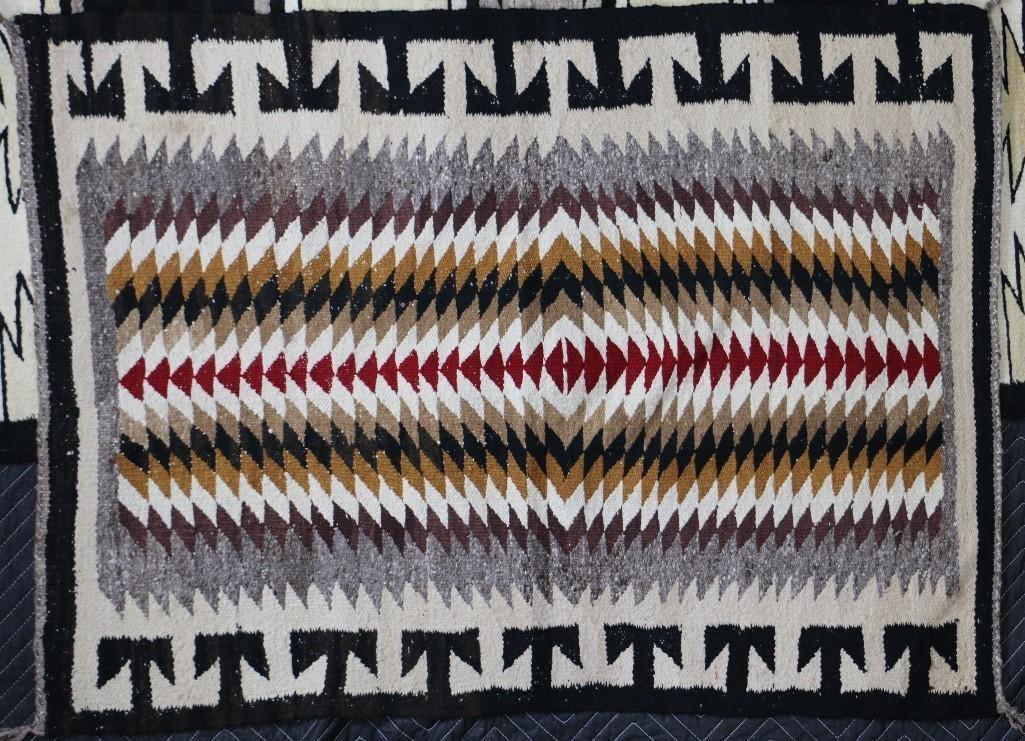 Three Navajo rugs - 3