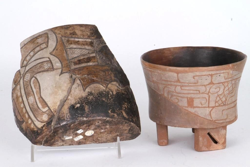 Two Mexican pre-Columbian items