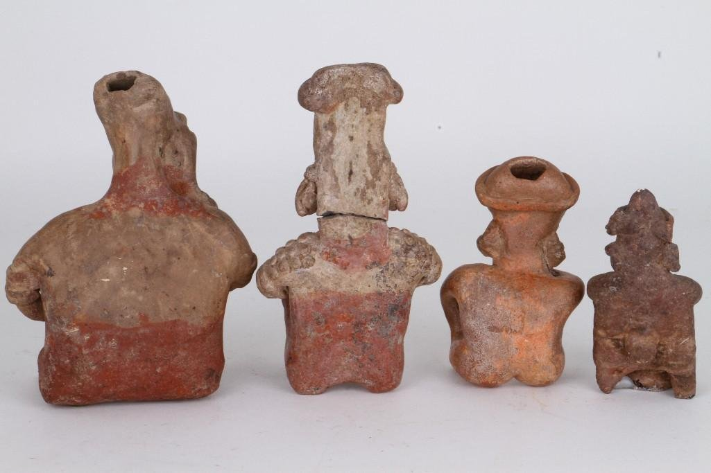 Four West Mexican figures - 4