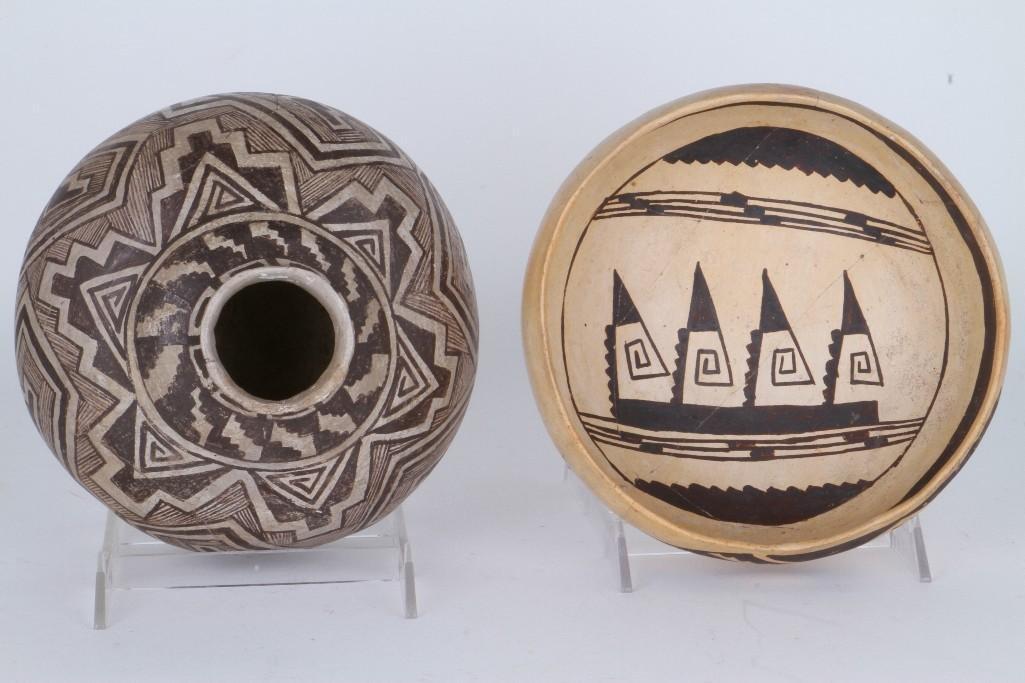 Two ancient Southwest bowls