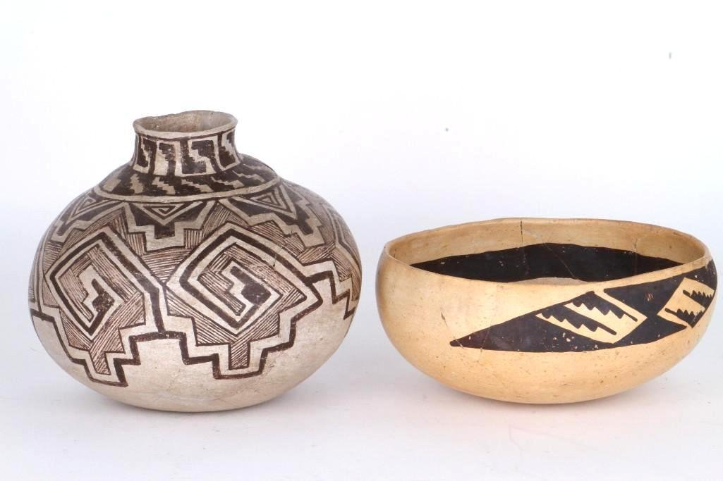 Two ancient Southwest bowls - 2