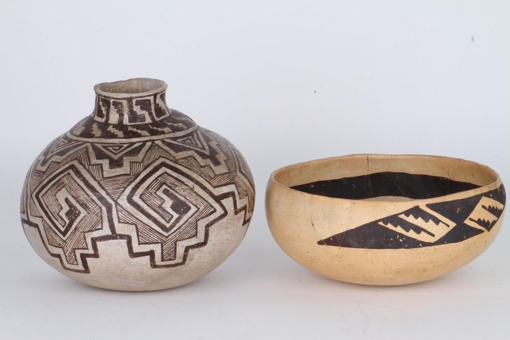 Two ancient Southwest bowls - 3
