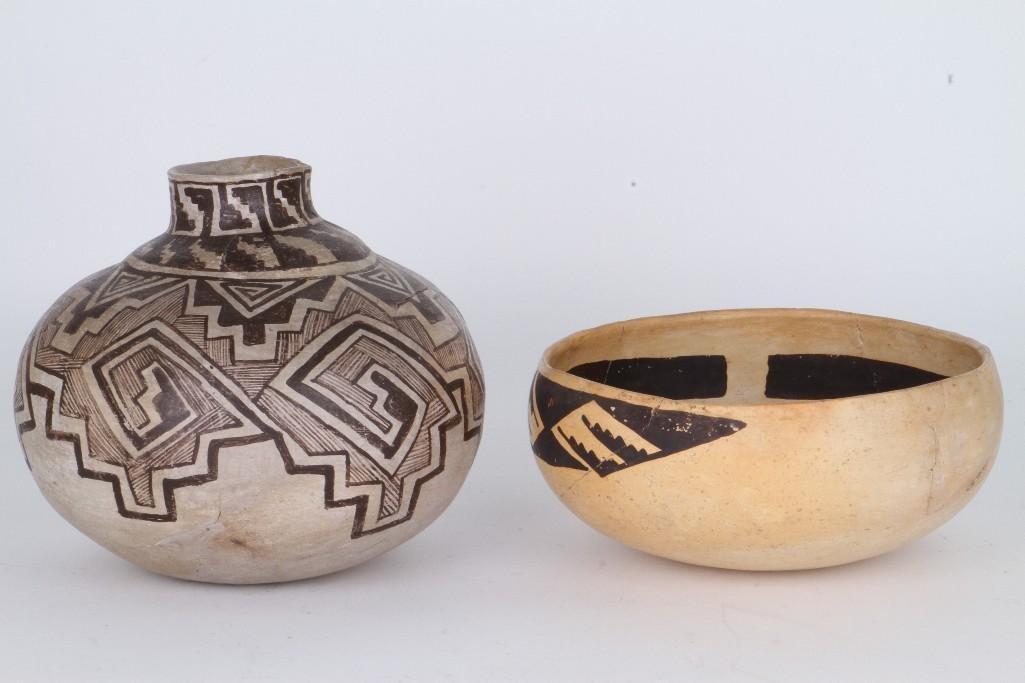 Two ancient Southwest bowls - 4