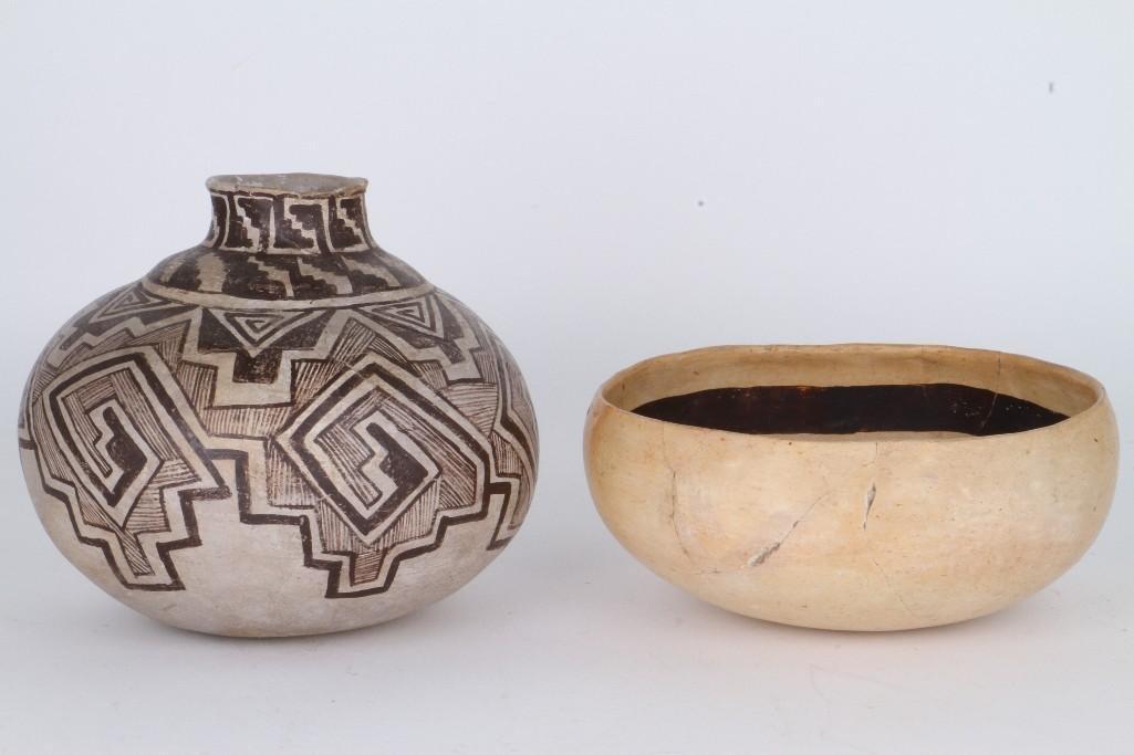 Two ancient Southwest bowls - 5