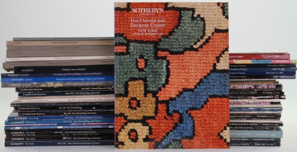 Fifty-six Sotheby Parke Bernet and Sotheby's Oriental r
