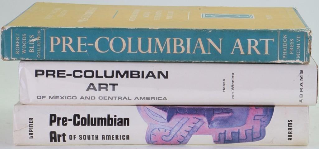 Three classic books on pre-Columbian art - 2