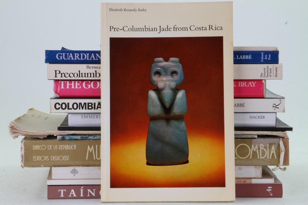Fourteen books and journals on pre-Columbian art of Cen