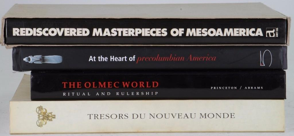 Four books on pre-Columbian art - 2