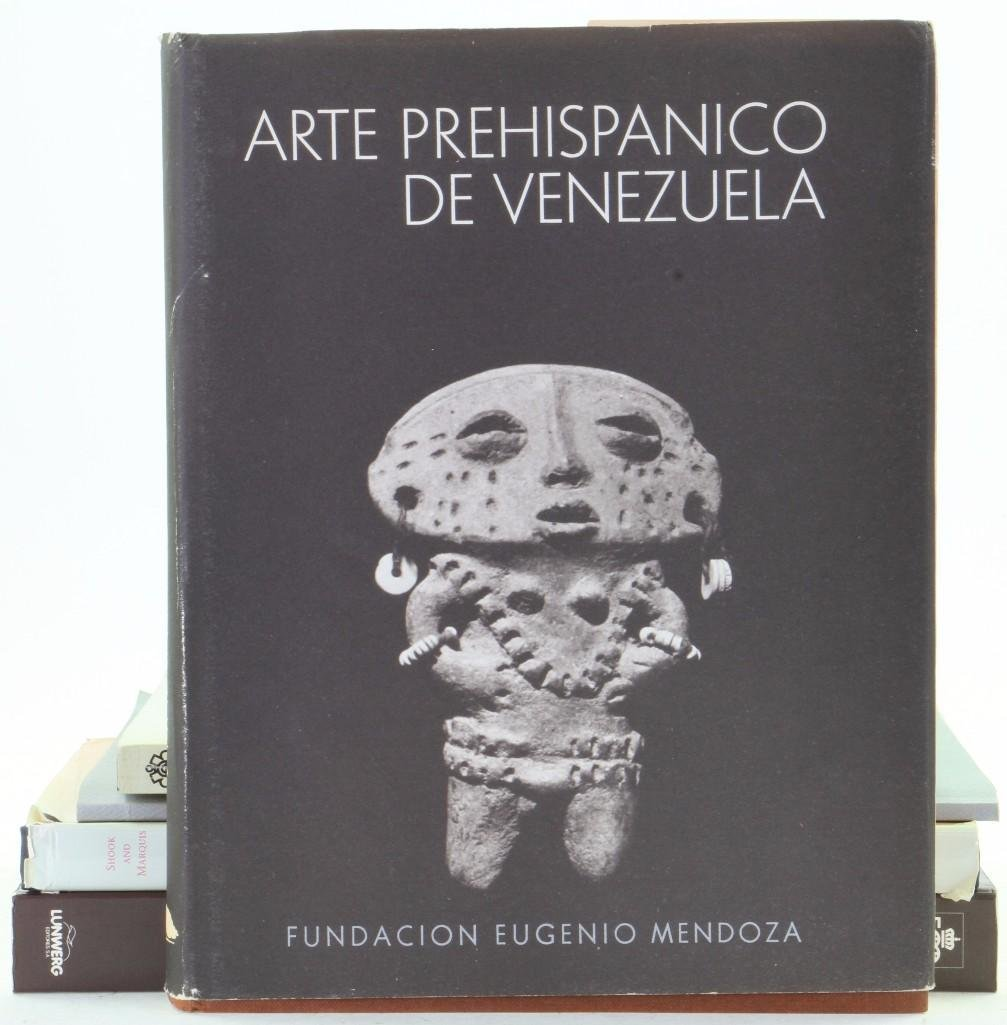 Five books on pre-Columbian art