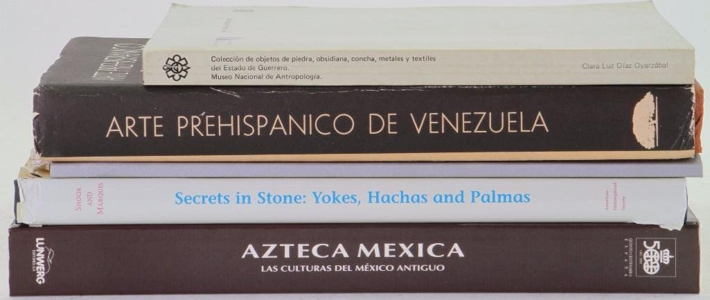 Five books on pre-Columbian art - 2
