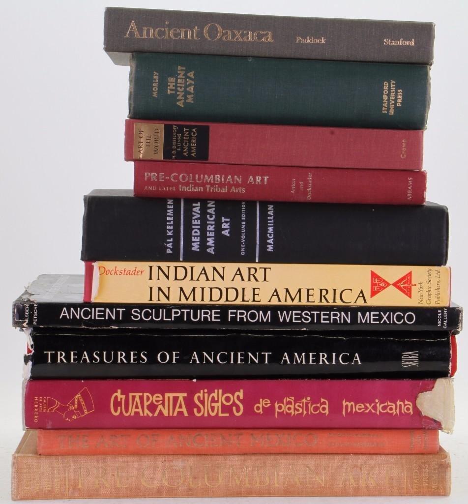 Eleven books on pre-Columbian art - 2