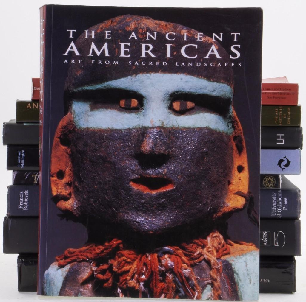Nine books on pre-Columbian art