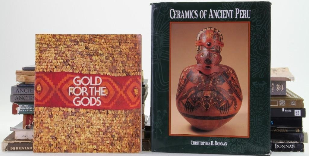 Twenty-three books and journals on the pre-Columbian ar