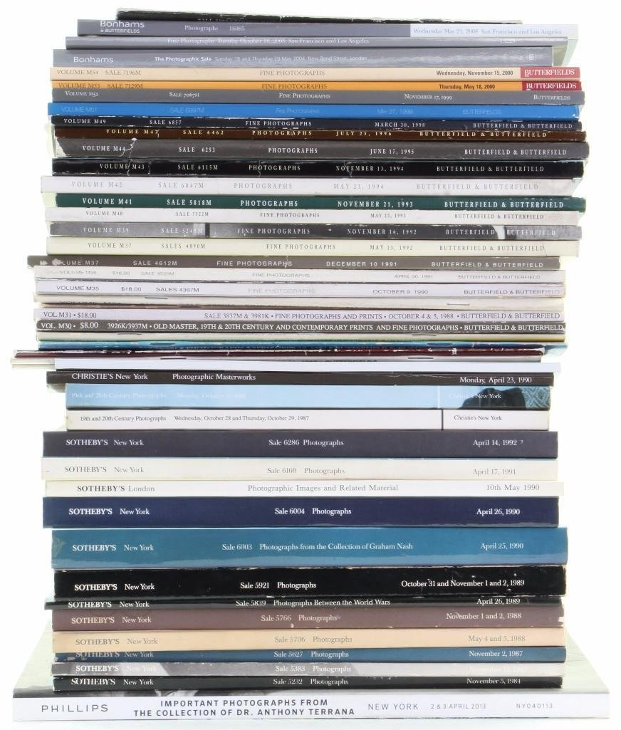 Forty-seven Fine Photography auction catalogues - 2