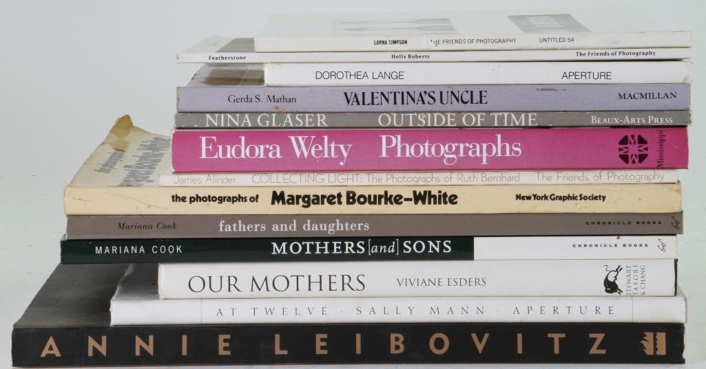 Thirteen books by women photographers - 2