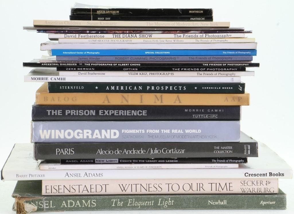 Twenty-six books and journals on fine photography - 2