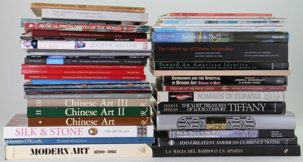 Forty-seven assorted books, journals and auction catalo - 2