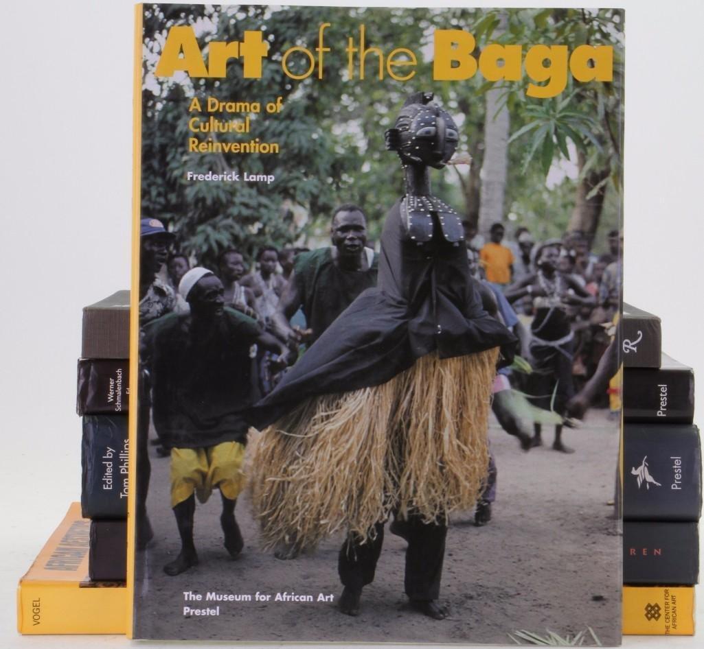 Six books on African art