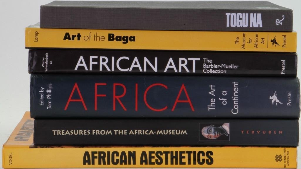 Six books on African art - 2