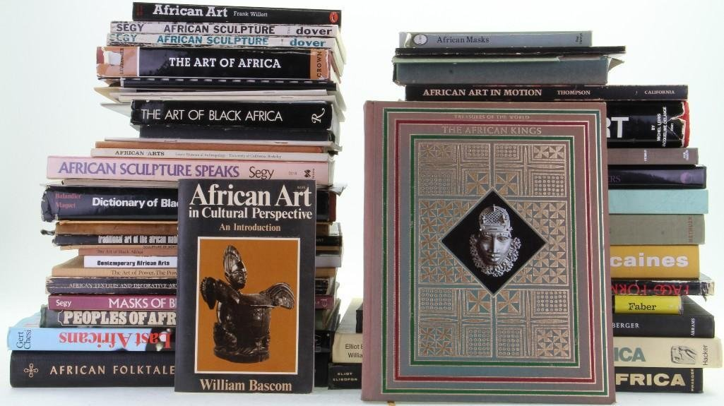 Forty-nine books, journals and pamphlets on African art