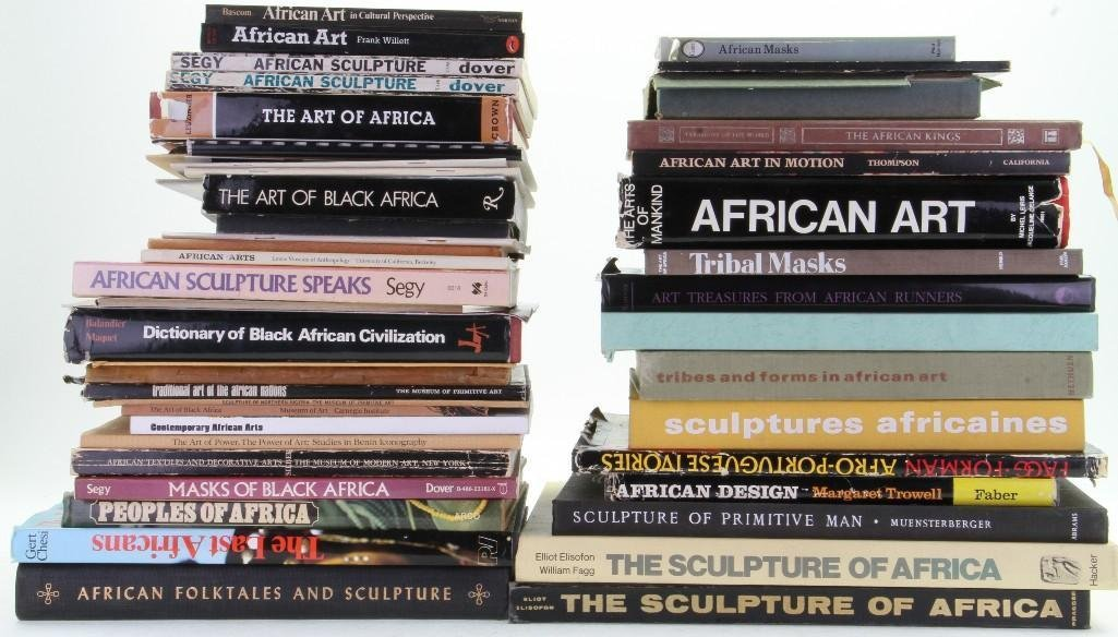 Forty-nine books, journals and pamphlets on African art - 2