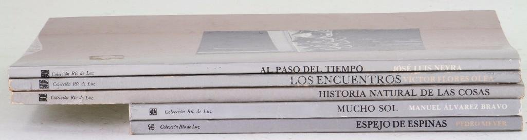Five Mexican Photography books - 2