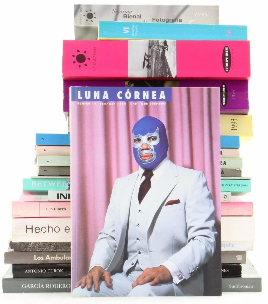 Nineteen Mexican and other books on Latin American phot