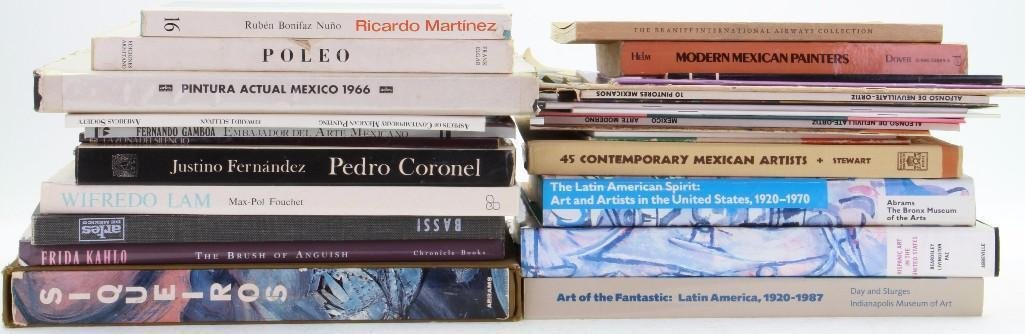 Thirty-one books and journals on Latin American art - 2