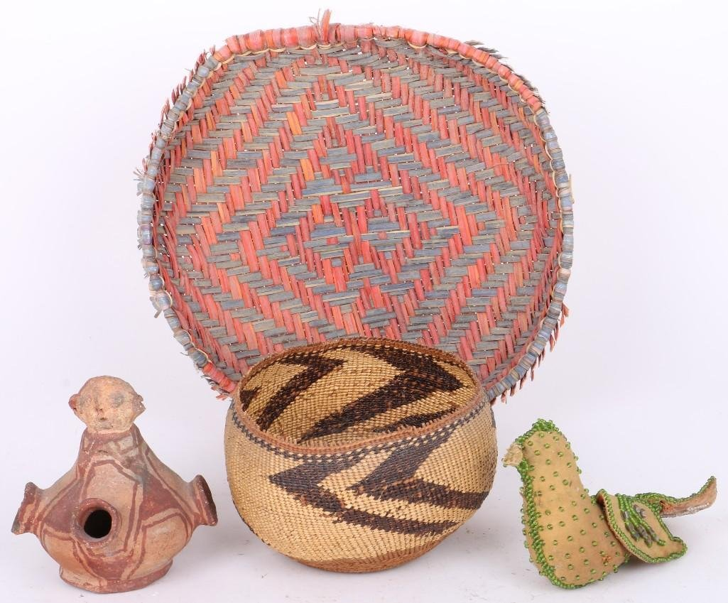 Four Native American items
