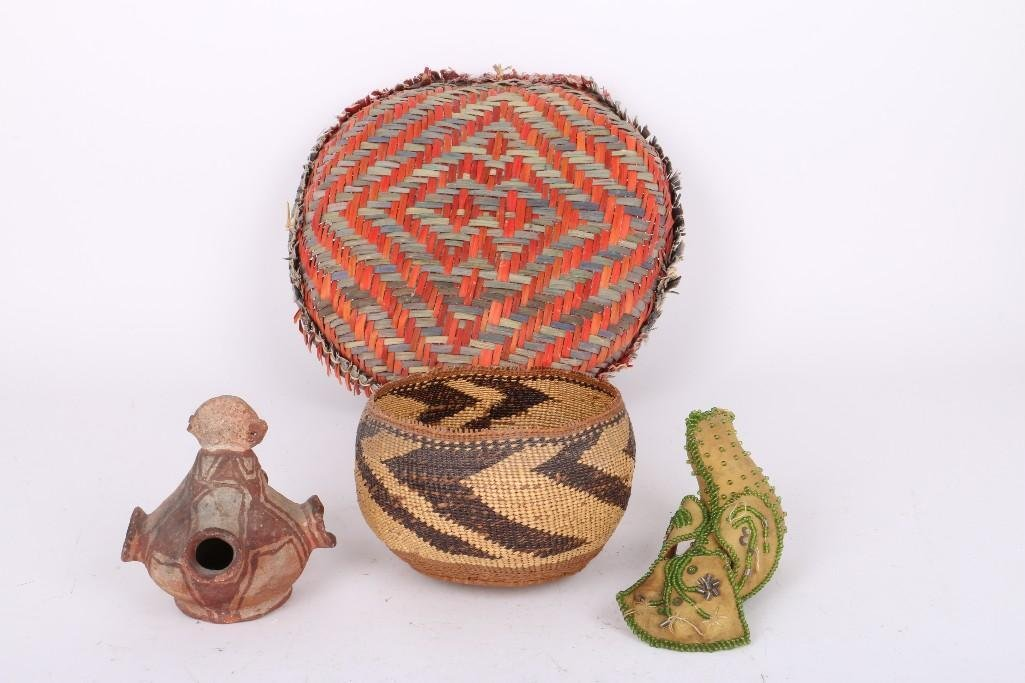 Four Native American items - 3
