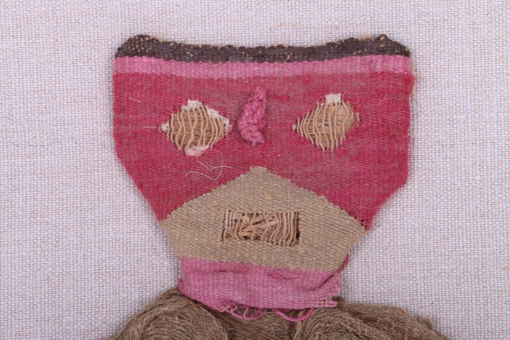 A Peruvian pre-Columbian textile doll - 2