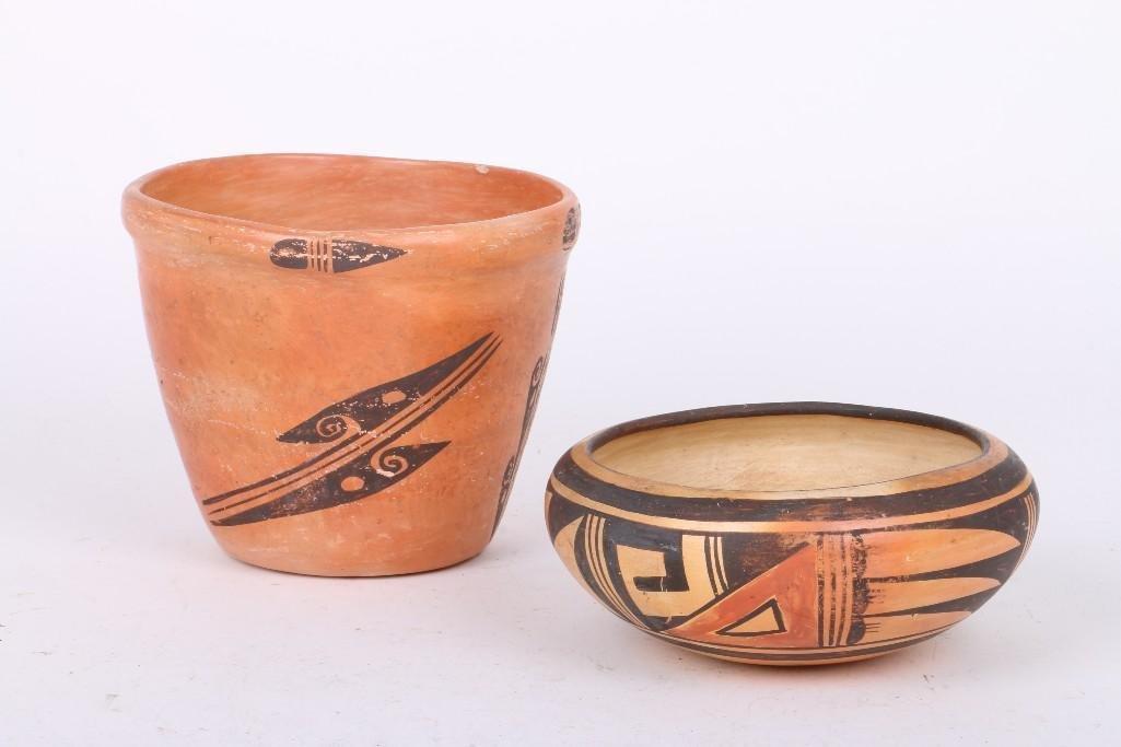 Two Hopi vessels - 2