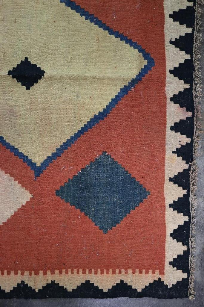 An Afghani room-sized kilim rug - 10
