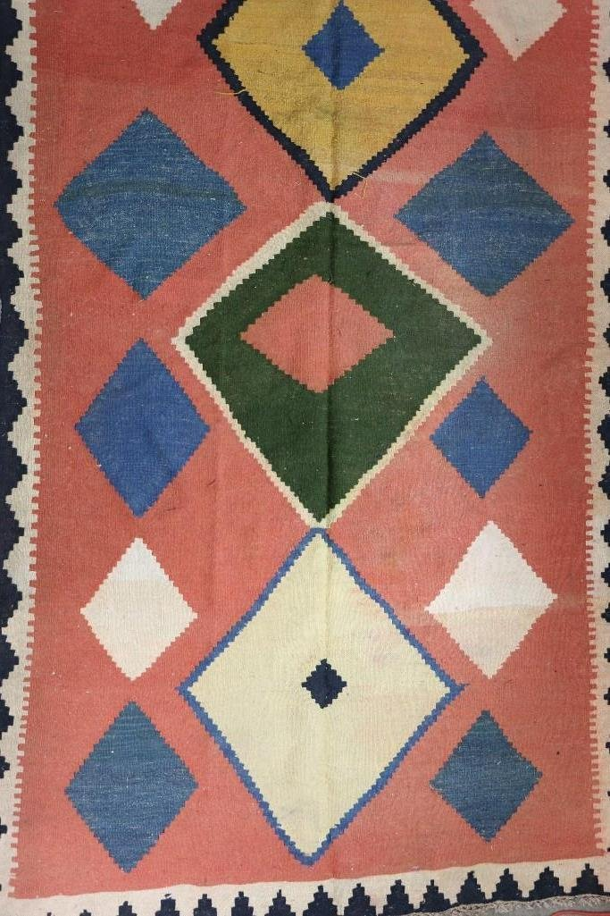 An Afghani room-sized kilim rug - 2