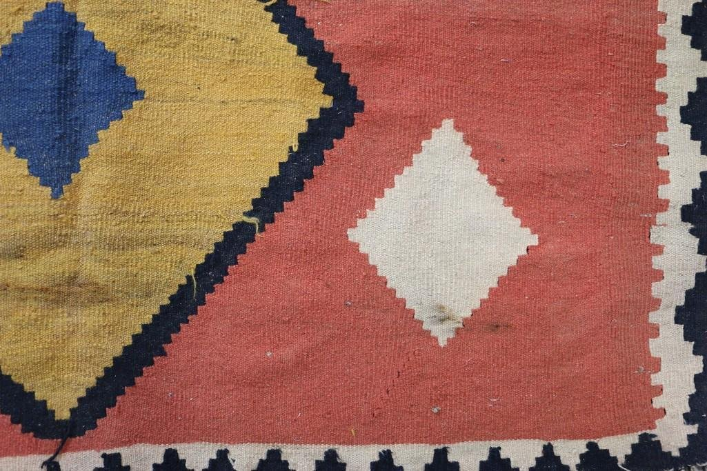 An Afghani room-sized kilim rug - 6