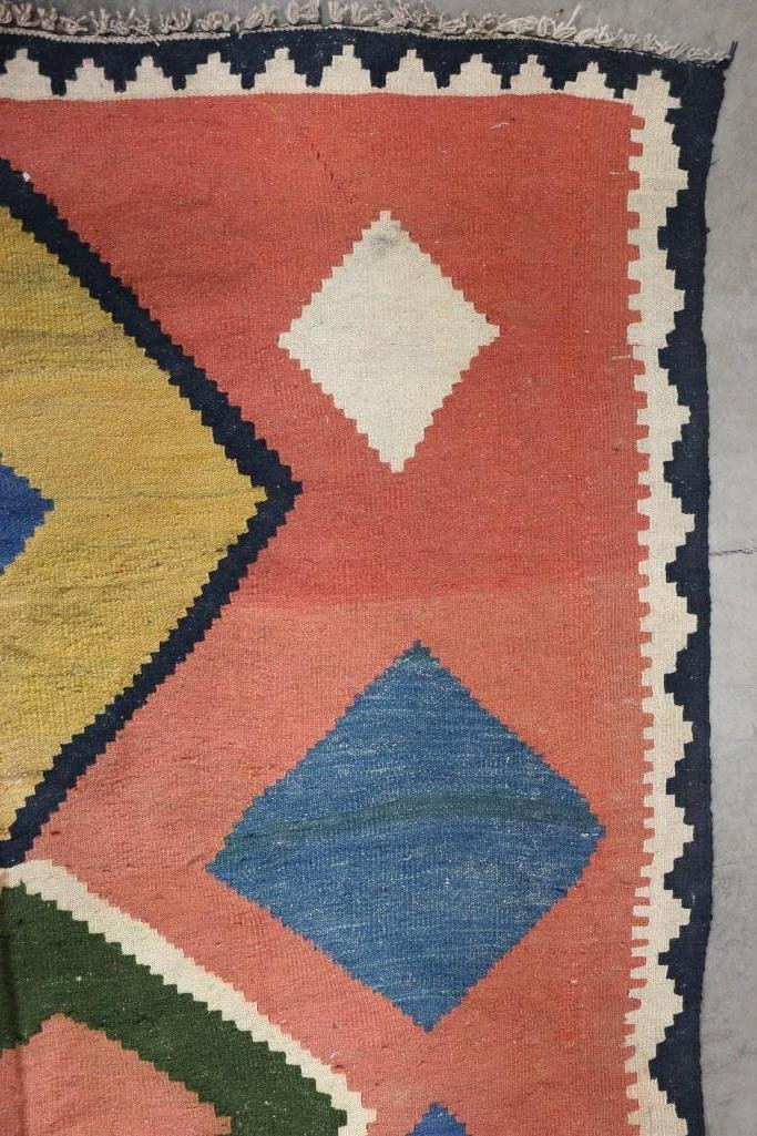 An Afghani room-sized kilim rug - 8
