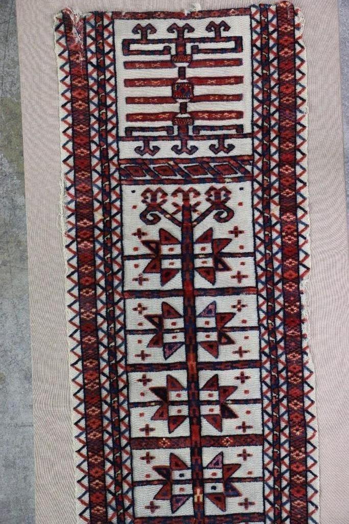 A Turkoman tentband fragment - 4