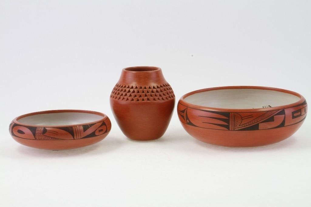 Three Hopi vessels - 2